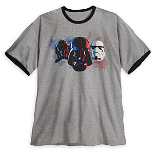 Darth Vader, TIE Pilot and Stormtrooper Tee for Men - Plus Size