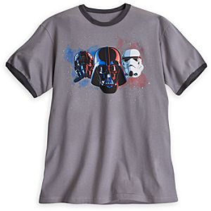 Darth Vader, TIE Pilot and Stormtrooper Tee for Men
