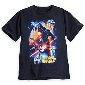 Star Wars Classic Character Tee for Adults