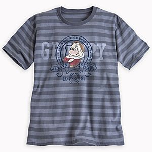 Grumpy Striped Tee for Men