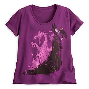 Maleficent and Dragon Tee for Women - Sleeping Beauty - Plus Size