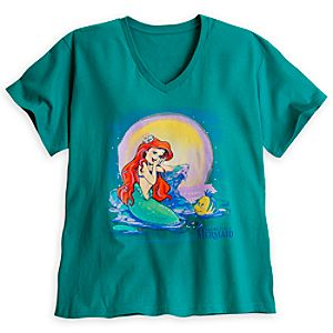 Ariel and Flounder Tee for Women - Plus Size