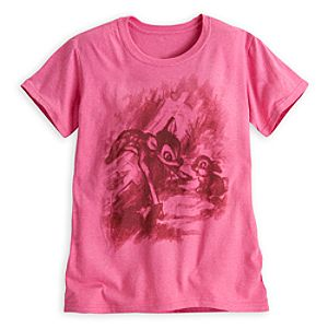 Bambi and Thumper Tee for Women