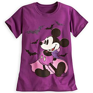 Mickey Mouse Vampire Tee for Women