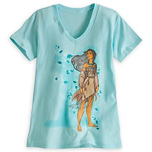 Pocahontas Tee for Women - Disney Fairytale Designer Collection