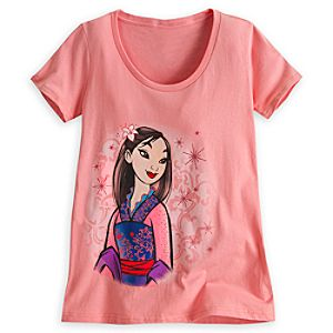 Mulan Tee for Women - Disney Fairytale Designer Collection
