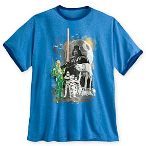 Darth Vader and Imperial Forces Ringer Tee for Men - Plus Size