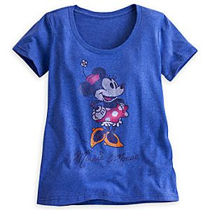 Minnie Mouse Foil Tee for Women