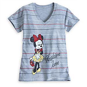 Minnie Mouse Fashion Icon Tee for Women