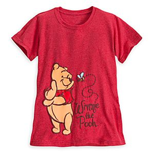 Winnie the Pooh Heathered Tee for Women