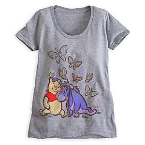 Winnie the Pooh and Eeyore Tee for Women