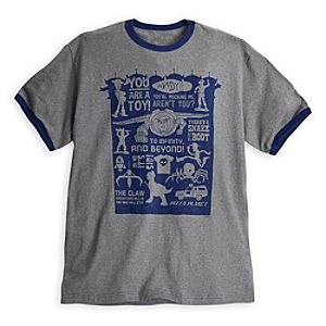 Toy Story Ringer Tee for Men