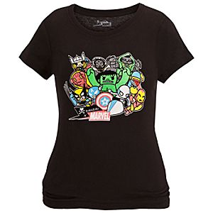 Marvel Universe Tee for Women by Tokidoki