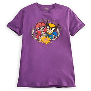 Magneto and Wolverine Tee for Men by Tokidoki