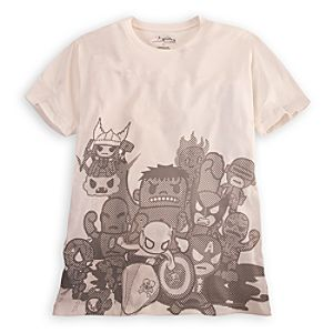 Marvel Universe Tee for Men by Tokidoki