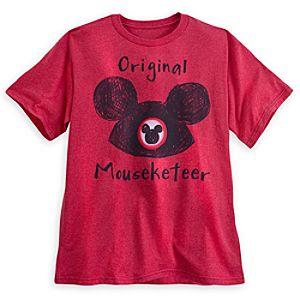 Mouseketeer Tee for Men
