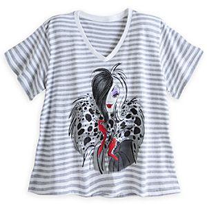 Cruella De Vil Fashion Tee for Women - Plus Size