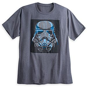 Darth Vader and Stormtrooper Op-Art Tee for Men - Star Wars - Plus Size