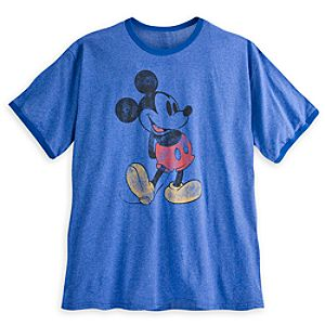 Mickey Mouse Classic Ringer Tee for Men - Plus Size