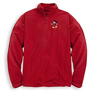 Personalizable Mickey Mouse Fleece Pullover for Men