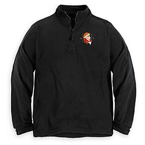 Personalizable Grumpy Fleece Pullover for Men