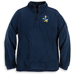 Personalizable Donald Duck Fleece Pullover for Men