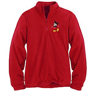 Personalizable Mickey Mouse Fleece Pullover for Women