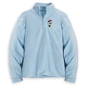 Personalizable Minnie Mouse Fleece Pullover for Women