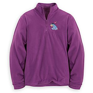 Personalizable Eeyore Fleece Pullover for Women