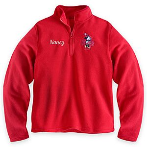 Minnie Mouse Fleece Pullover for Women - Personalizable