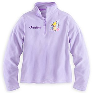 Tinker Bell Fleece Pullover for Women - Personalizable