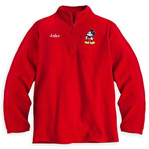Mickey Mouse Fleece Pullover for Men - Personalizable
