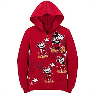 Disney Nostalgia Mickey Mouse Hoodie for Women
