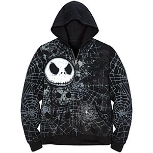 Fleece Jack Skellington Hoodie for Men
