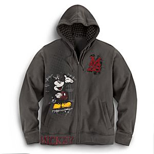 Mickey Mouse Hoodie for Men -- Plus Size