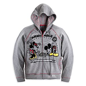Mickey and Minnie Mouse 1928 Hoodie for Women