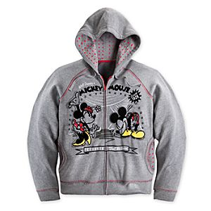 Mickey and Minnie Mouse 1928 Hoodie for Women - Plus Size