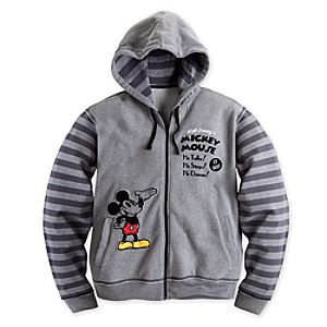 Mickey Mouse 1928 Hoodie for Men - Plus Size