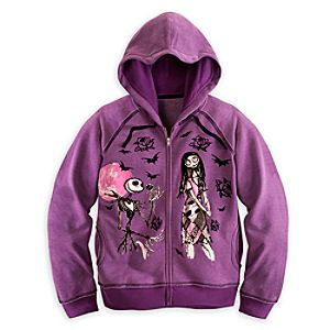 Jack Skellington and Sally Hoodie for Women