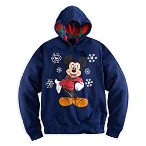 Mickey Mouse Holiday Hoodie for Men