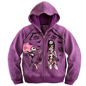 Jack Skellington and Sally Hoodie for Women - Plus Size