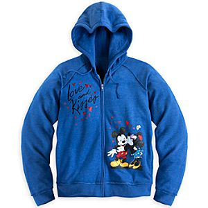 Mickey and Minnie Mouse Hoodie for Women - Plus Size