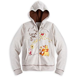 Winnie the Pooh and Pals Hoodie for Women - Plus Size