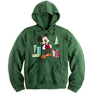 Mickey Mouse Hoodie for Men - Holiday - Plus Size