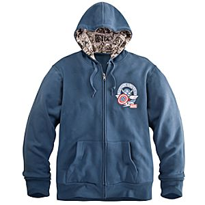 Captain America Hoodie for Men by Tokidoki