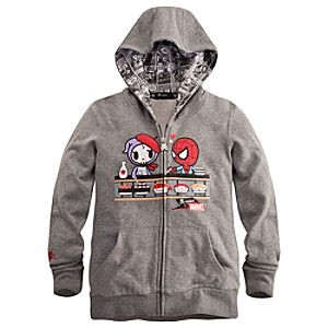 Spidey Kaiten Spider-Man Hoodie for Women by Tokidoki
