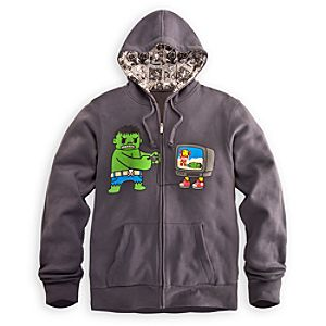Game Over Hulk and Iron Man Hoodie for Men by Tokidoki