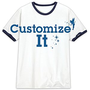 Customized Ringer Tee for Adults