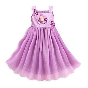 Rapunzel Party Dress for Girls