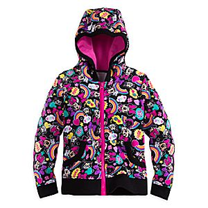 Minnie Mouse Clubhouse Zip Hoodie for Girls